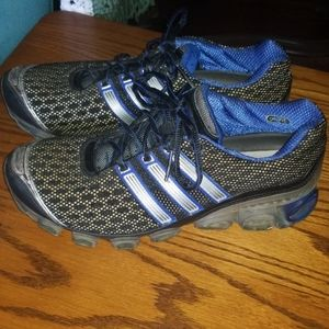 Adidas Bounce Running shoes blue/black 8.5
